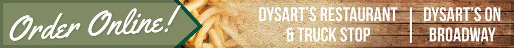 dysart's order online graphic
