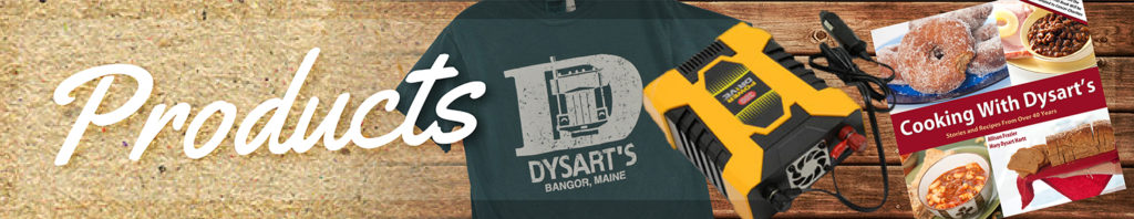 dysart's products graphic