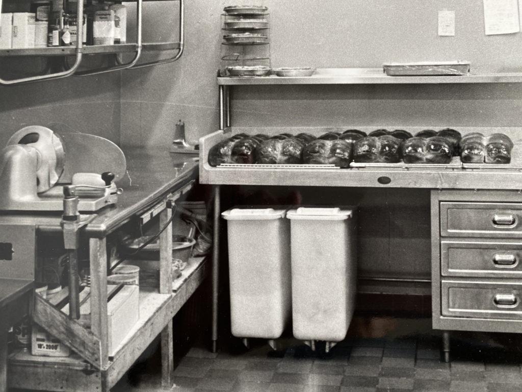 1973 Dysart's kitchen