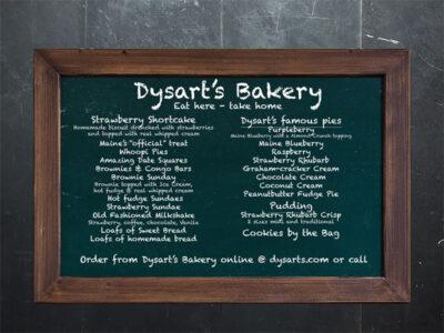 Dysart's Bakery