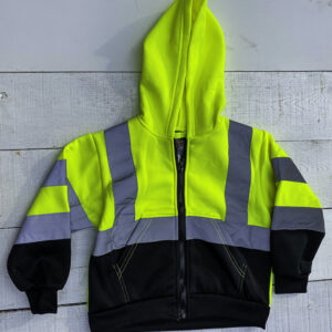 HI-VISIBILITY CHILDS SWEATSHIRT